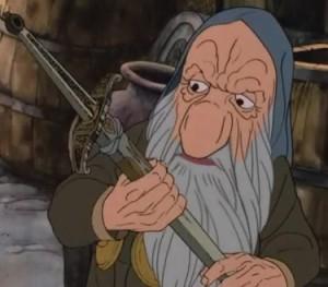 تورین سپربلوط در انیمیشن هابیت(1977)