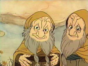 بیفور و بوفور در انیمیشن هابیت(۱۹۷۷)
