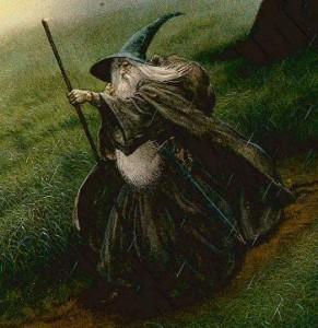گندالف خاکستری - اثر Jonh Howe