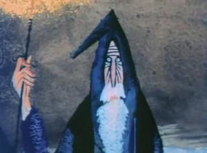 گندالف در انیمیشن هابیت(1966)