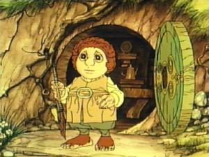 بیلبو بگینز در انیمیشن هابیت(1977)