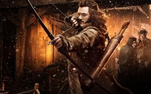 Luke Evans در نقش بارد کمانگیر در سه گانه هابیت
