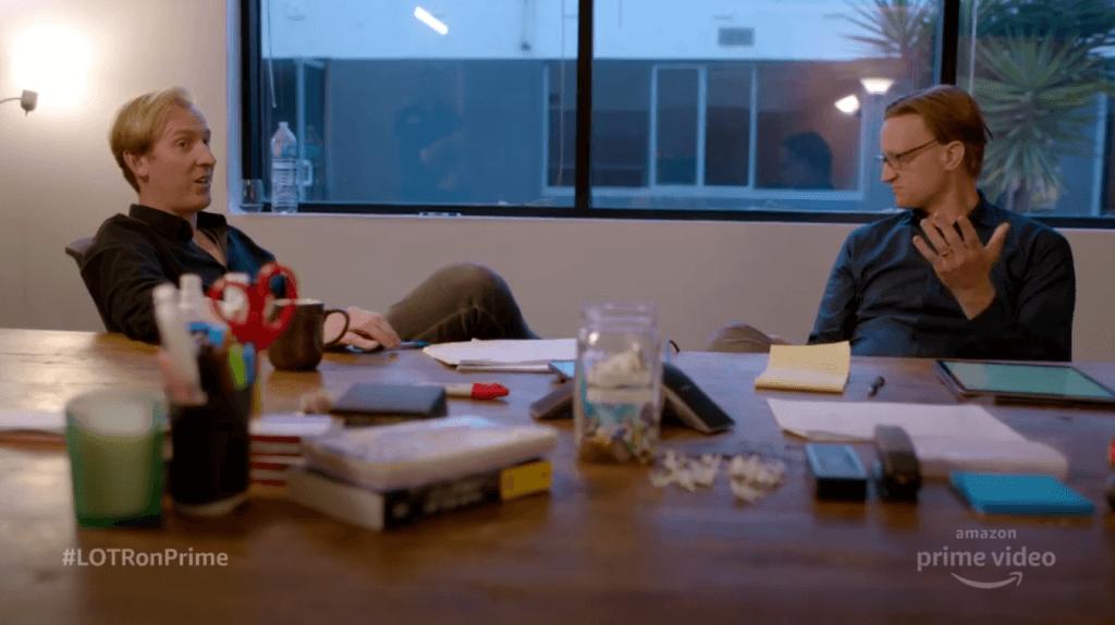 جی. دی. پین و پاتریک مککی شورانر سریال ارباب حلقهها آمازون