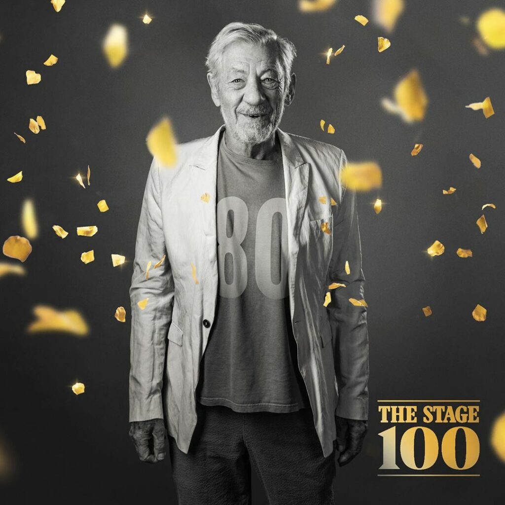 Ian McKellen The Stage 100