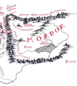 نقشه سرزمین میانه