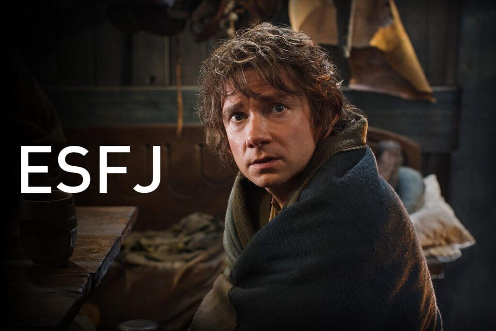 Martin Freeman Bilbo Baggins ESFJ