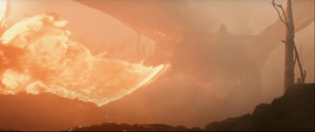 اژدها در فیلم تالکین 2019