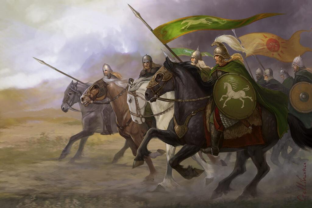حدیث نبرد گدارهای آیزن و سرنگونی تئودرد، شاهپور روهان