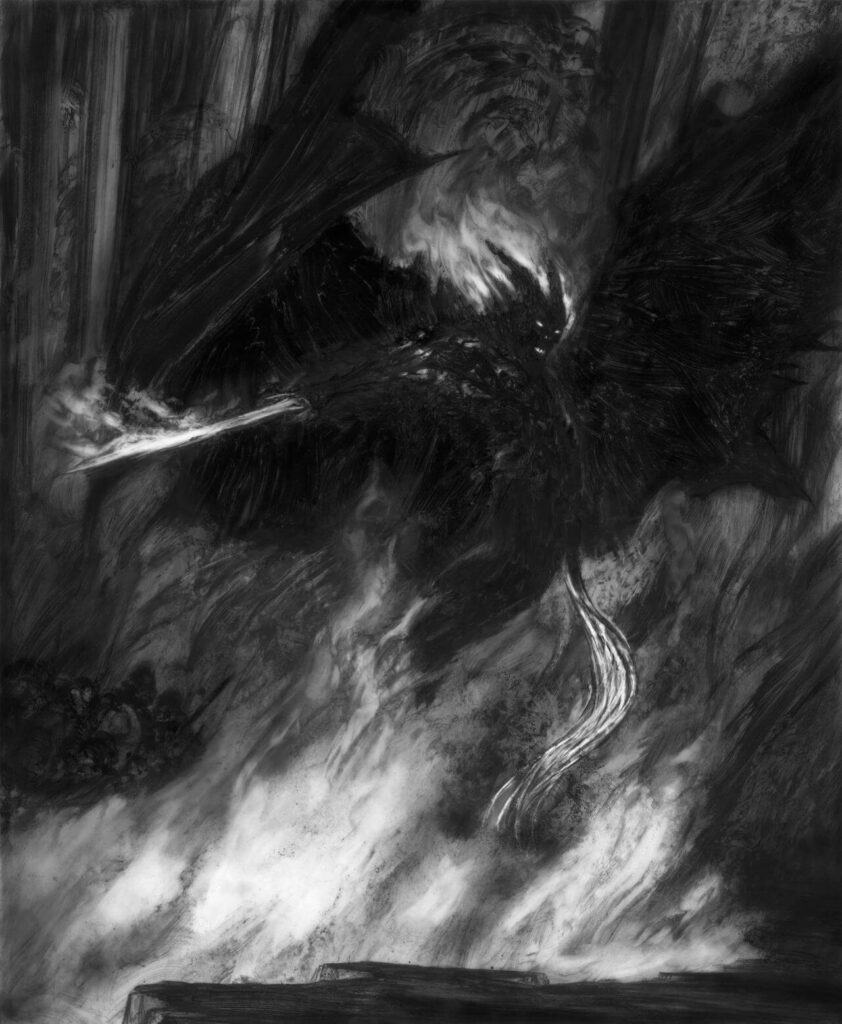 Durin's Bane by Donato Giancola