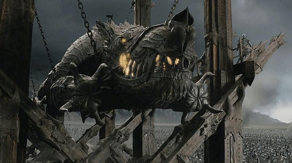 گروند - دژکوب عظیم موردور
