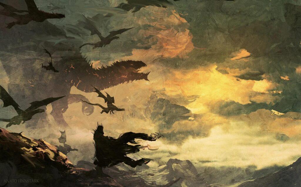 اژدهای مورگوت - اثر Anato Finnstark