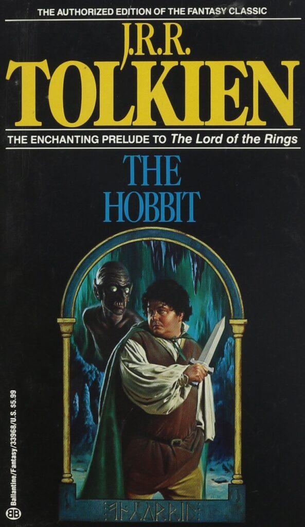کتاب هابیت - نسخه آمریکایی انتشارات بالانتاین منتشر شده در 1988