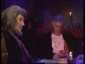 بیلبو و گندالف در خرانیتلی - اقتباس روسی از ارباب حلقهها