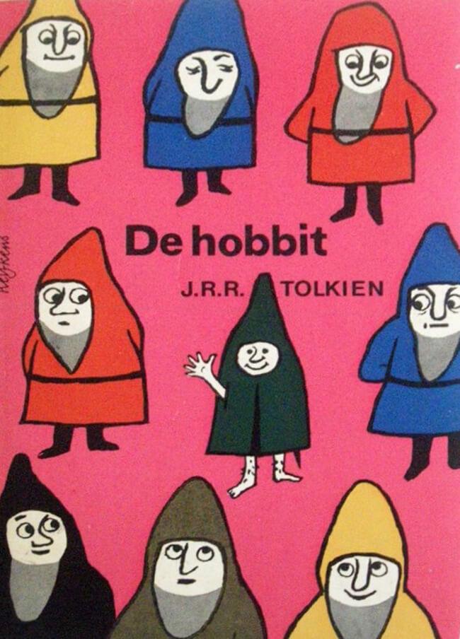کتاب هابیت - نسخه هلندی منتشر شده در 1960