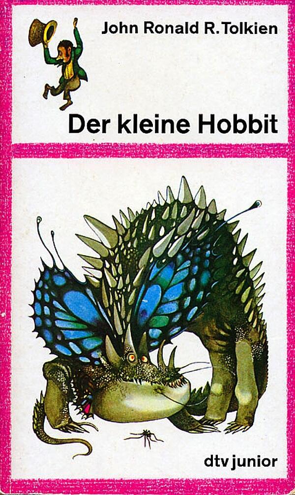 کتاب هابیت - نسخه آلمانی منتشر شده در 1967