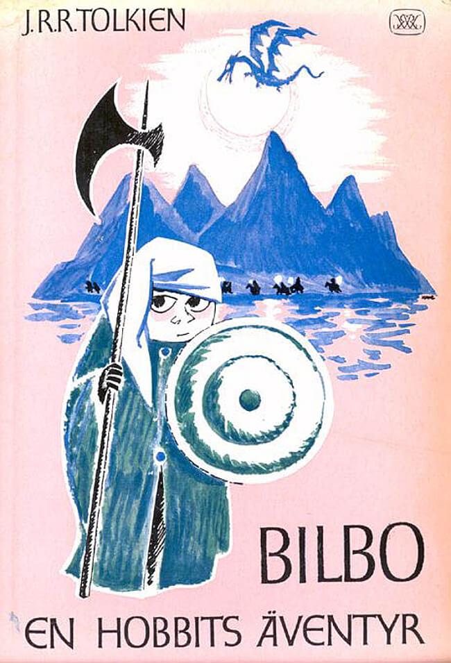 کتاب هابیت - نسخه سوئدی منتشر شده در 1962