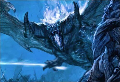 Balrog vs Ent by lain McCaig