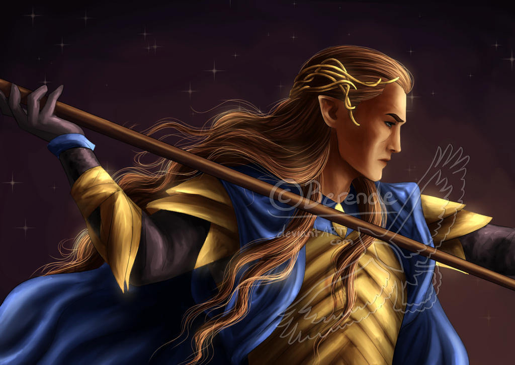 Gil-galad redraw by Berende