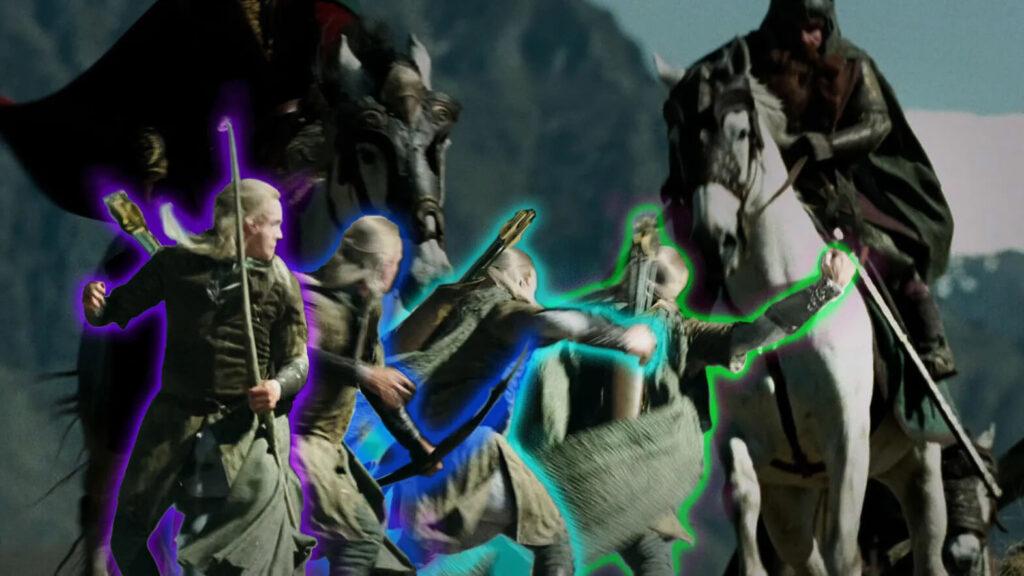 تحقیقی بر چگونگی سوار شدن لگولاس بر اسب در فیلم ارباب حلقهها: دو برج
