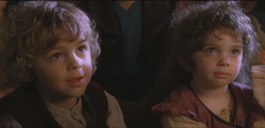 حضور کودکان پیتر جکسون در فیلم ارباب حلقهها