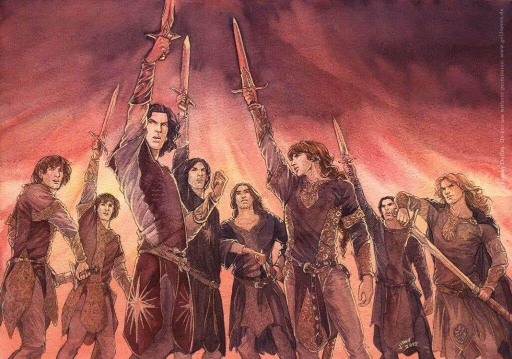 The Oath of Fëanor by Jenny Dolfen