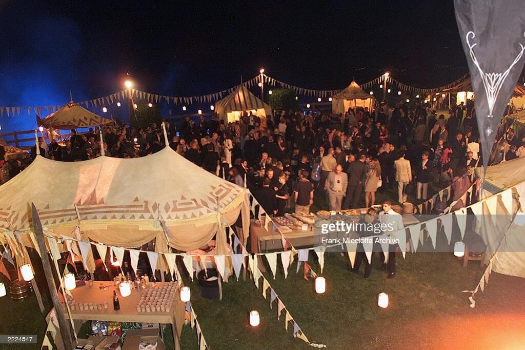 مهمانی ارباب حلقهها در فستیوال فیلم کن سال 2001