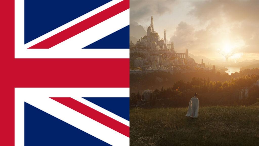 آمازون فصل 2 سریال ارباب حلقهها را در انگلستان فیلمبرداری خواهد کرد