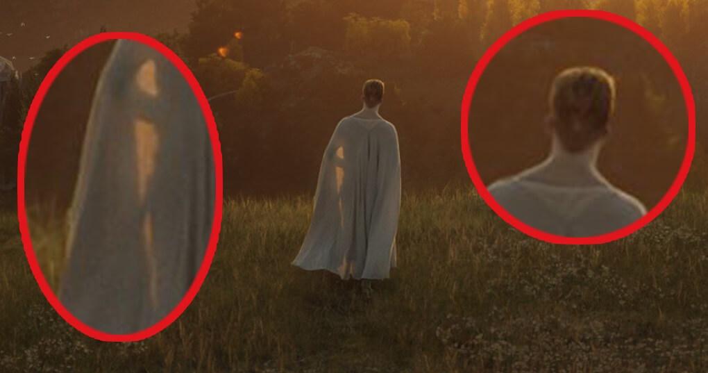 شخصیت سفیدپوش در تصویر سریال ارباب حلقهها