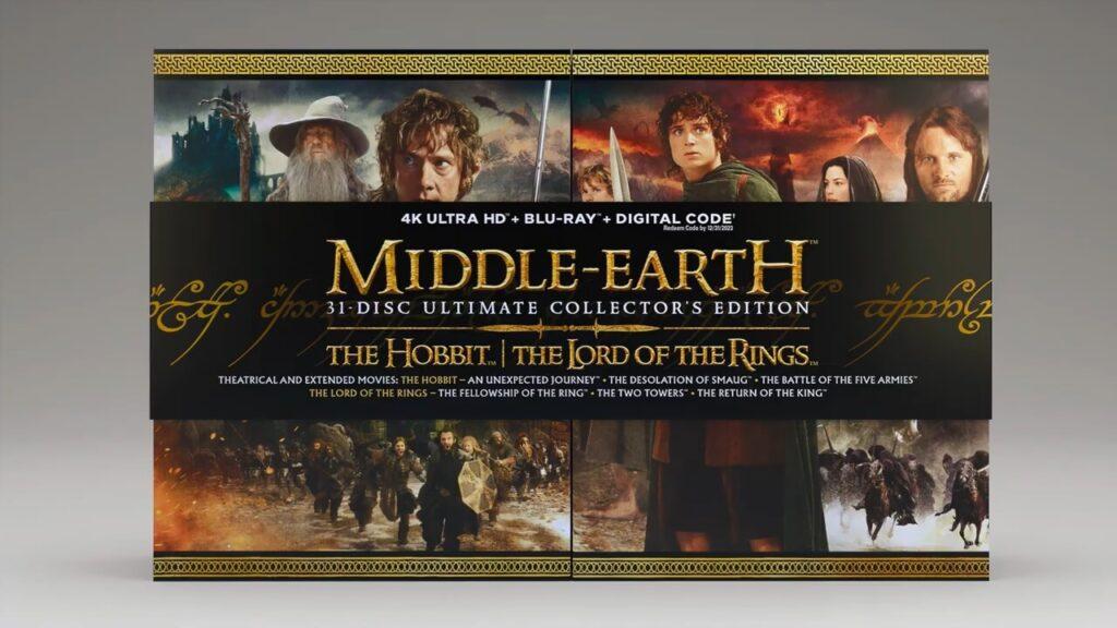کاملترین مجموعه ارباب حلقهها و هابیت در 31 دیسک منتشر خواهد شد